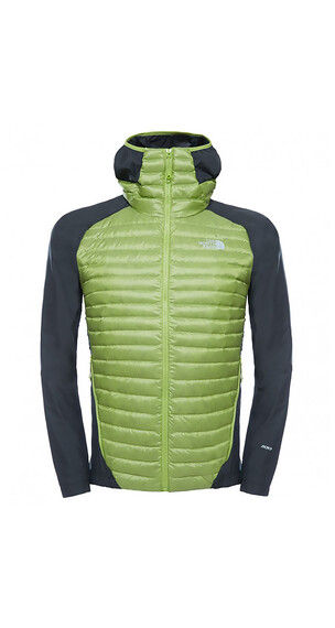 The North Face M's Verto Micro Hybrid Jacket Macaw Green/Asphalt Grey